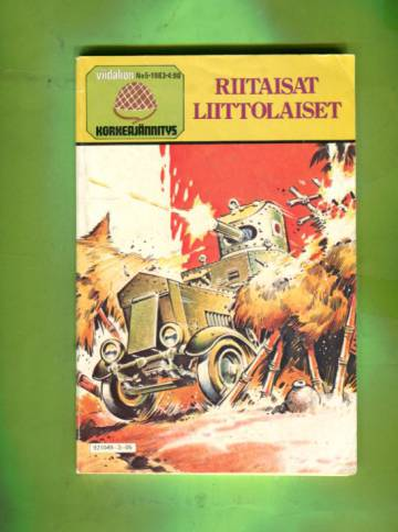 Viidakon korkeajännitys 5/83 - Riitaisat liittolaiset