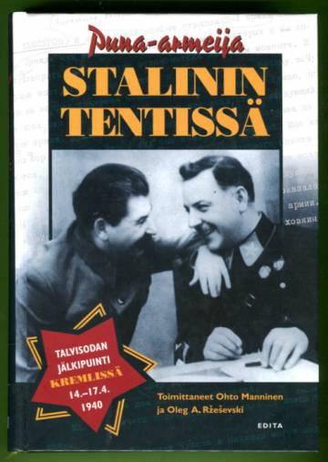 Puna-armeija Stalinin tentissä