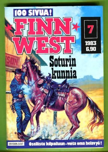 Finnwest 7/83 - Soturin kunnia