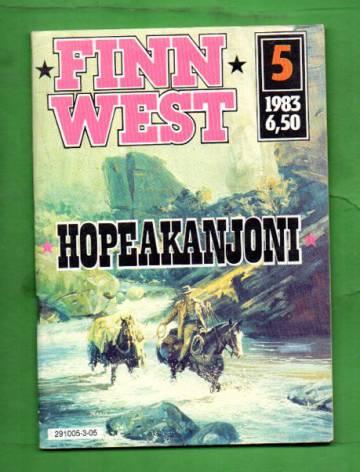 Finn West 5/83 - Hopeakanjoni