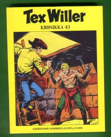 Tex Willer -kronikka 43 - Kiinalaiskortteli & Nogalesista itään