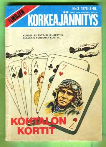 Ilmojen Korkeajännitys 3/79 - Kohtalon kortit