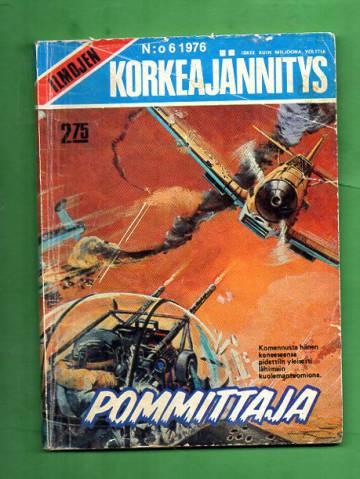 Ilmojen Korkeajännitys 6/76 - Pommittaja