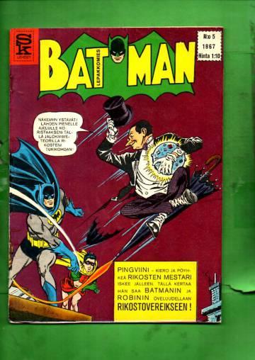 Batman - Lepakkomies 5/67
