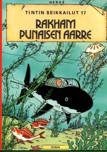 Tintin seikkailut 17 - Rakham Punaisen aarre