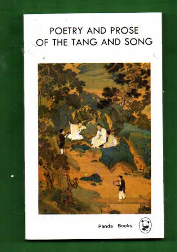 Poetry and Prose of the Tang and Song