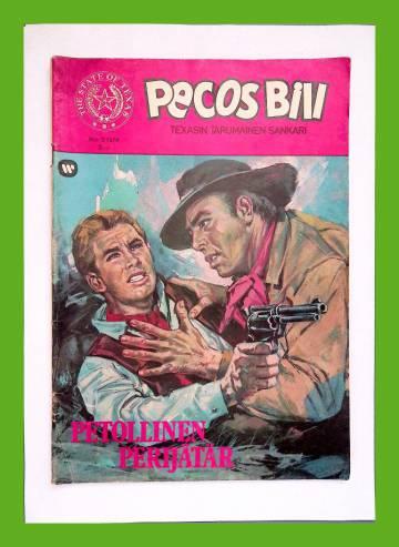 Pecos Bill 3/74 - Petollinen perijätär