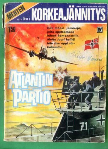 Merten korkeajännitys 7/72 - Atlantin partio