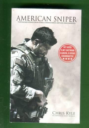 American Sniper - Yhdysvaltain sotahistorian vaarallisimman tarkka-ampujan omaelämäkerta