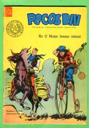 Pecos Bill 12/59 - Mustan hevosen intiaanit