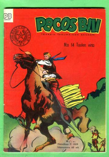 Pecos Bill 14/59 - Tuulen virta