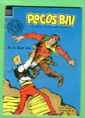 Pecos Bill 16/59 - Vihreä liekki