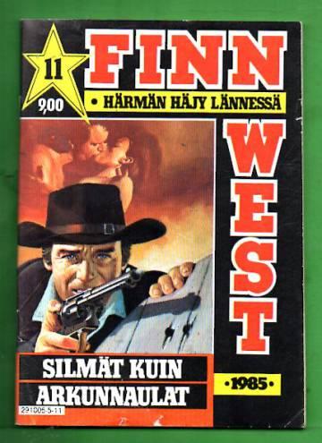 Finnwest 11/85 - Silmät kuin arkunnaulat