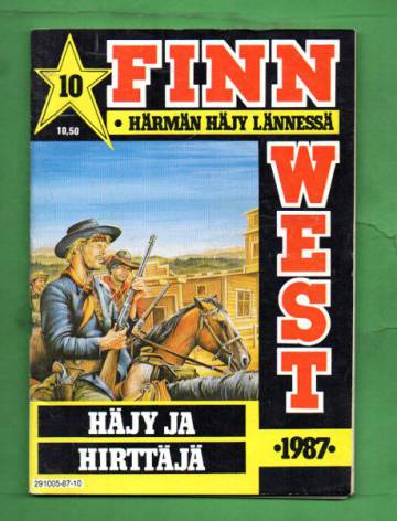 Finnwest 10/87 - Häjy ja hirttäjä
