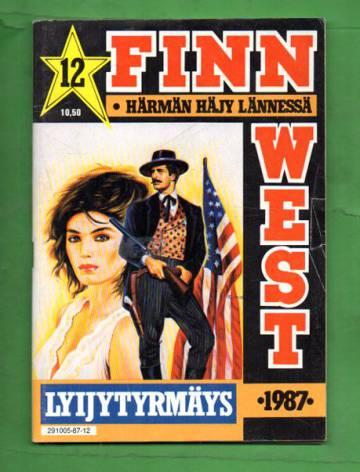Finn West 12/87 - Lyijytyrmäys