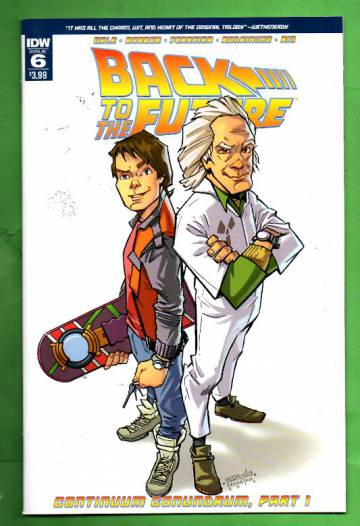 Back to the Future #6 / Mar 16