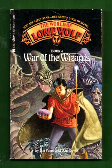 The World of Lone Wolf book 4 - War of the Wizards