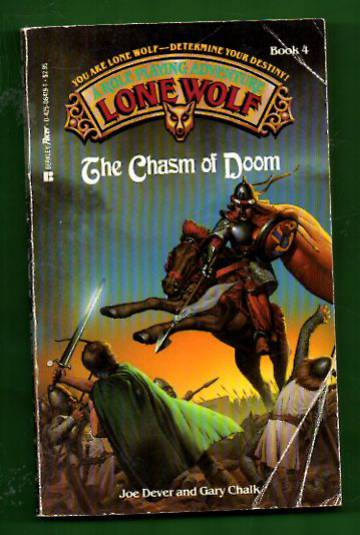 A Roleplaying Adventure Lone Wolf book 4 - The Chasm of Doom