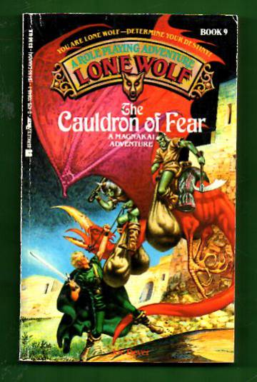 A Roleplaying Adventure Lone Wolf book 9 - The Cauldron of Fear