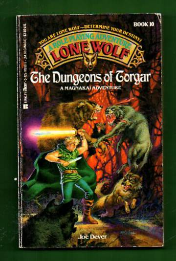 A Roleplaying Adventure Lone Wolf book 10 - The Dungeons of Torgar