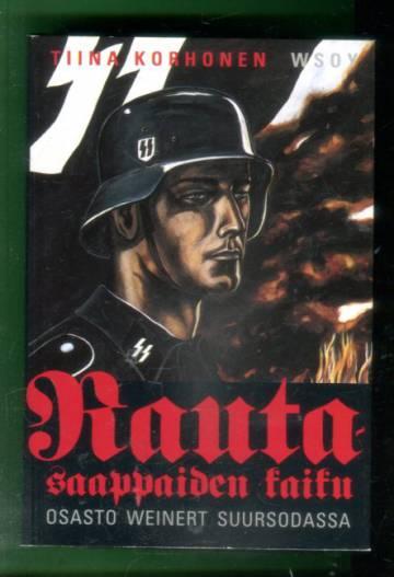 Rautasaappaiden kaiku - SS-osasto Weinert suursodassa