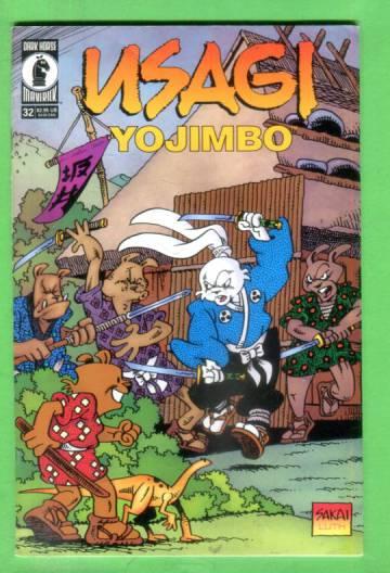 Usagi Yojimbo Vol 3 #32, October 1999