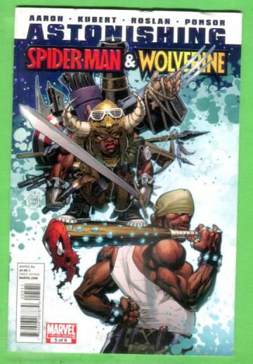 Astonishing Spider-Man & Wolverine #5, May 2011