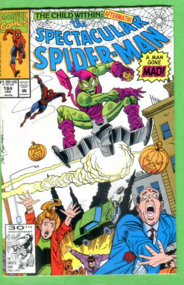 The Spectacular Spider-Man #184, January 1992