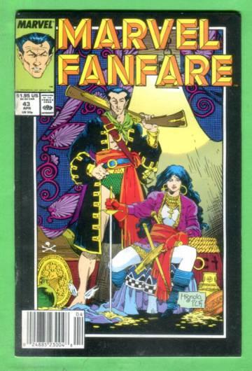 Marvel Fanfare Vol 1 #43 Apr 89