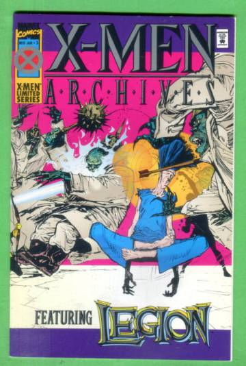X-Men Archives #3 Mid-Jan 95