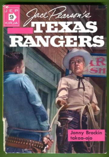 Texas Rangers - Jonny Brockin takaa-ajo (Jep-kirja 9)
