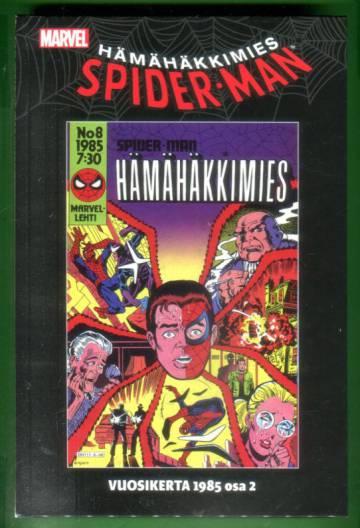 Hämähäkkimies vuosikerta 1985 osa 2