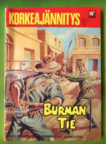 Korkeajännitys 19/71 - Burman tie