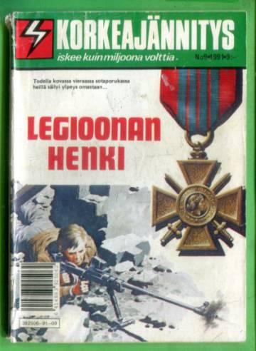 Korkeajännitys 9/91 - Legioonan henki