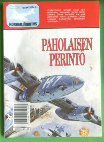 Ilmojen Korkeajännitys 9/91 - Paholaisen perintö