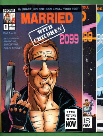Married with Children 2099 #1-3, Jun-Jul 1993 (Whole miniserie)