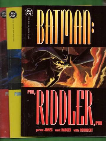 Batman: Run, Riddler, Run #1-3 (Whole miniserie)