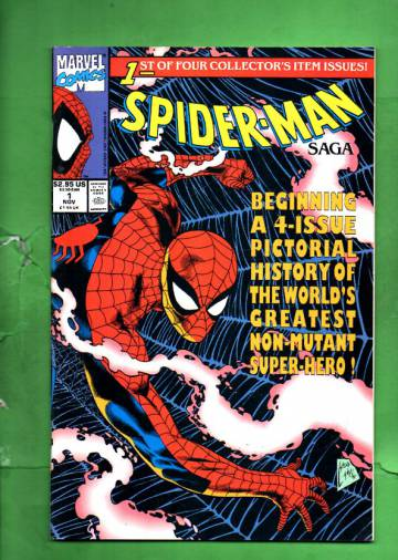 Spider-Man Saga Vol. 1 #1 Nov 91