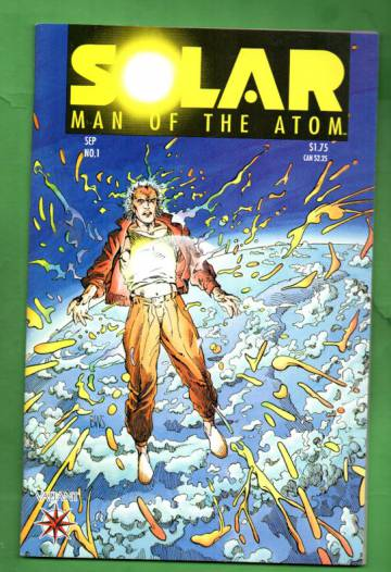 Solar Man of the Atom #1, September 1991