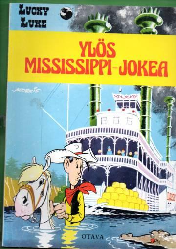 Lucky Luke 35 - Ylös Mississippi-jokea (1. painos)