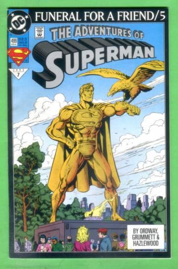 Adventures of Superman No. 499, February 1993