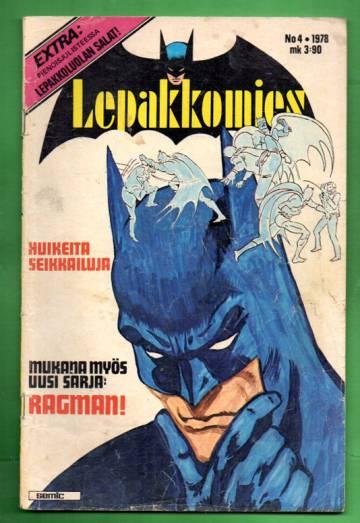 Lepakkomies 4/78 + juliste