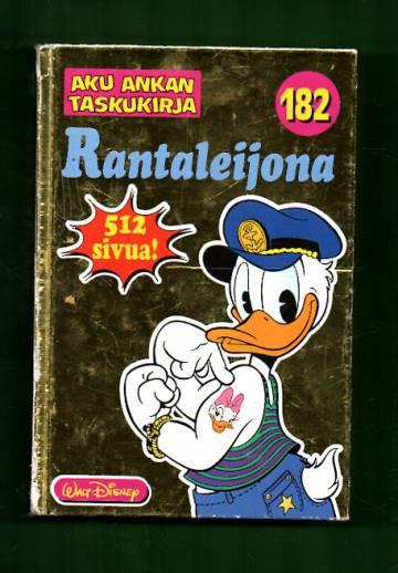 Aku Ankan taskukirja 182 - Rantaleijona (1. painos)
