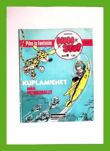 Non Stop 8 (albumi 5) - Piko ja Fantasio: Kuplamiehet & Pienoismallit (+TARRA)