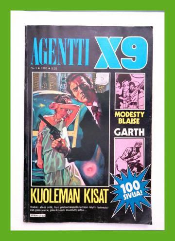Agentti X9 3/83 (Modesty Blaise)