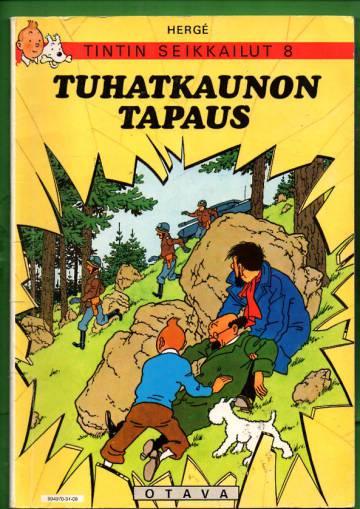 Tintin seikkailut 8 - Tuhatkaunon tapaus