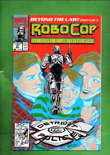 Robocop #21, November 1992