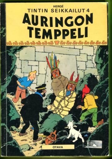 Tintin seikkailut 4 - Auringon temppeli