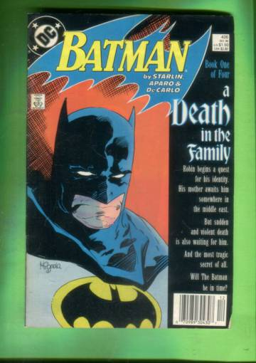 Batman #426 Dec 88
