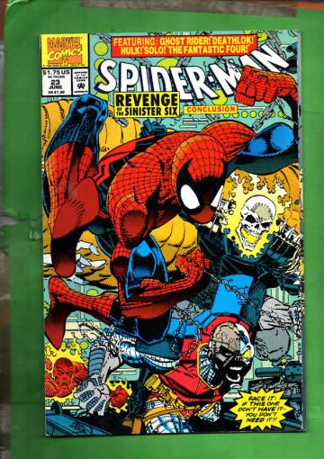Spider-Man Vol. 1, No. 23, June 1992